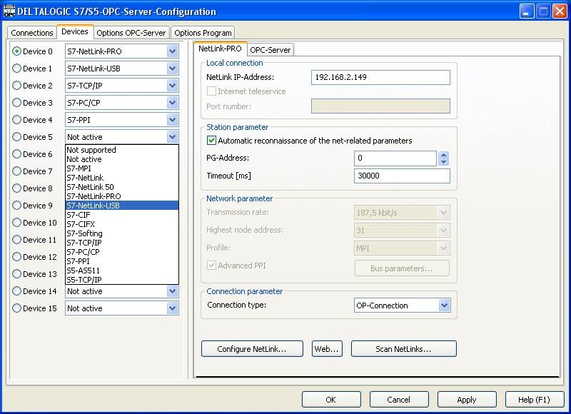 opc server deltalogic for siemens simatic s5 s7 200 s7 1200 s7