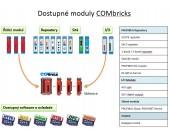 8x digitální vstupní modul 24 VDC COMbricks