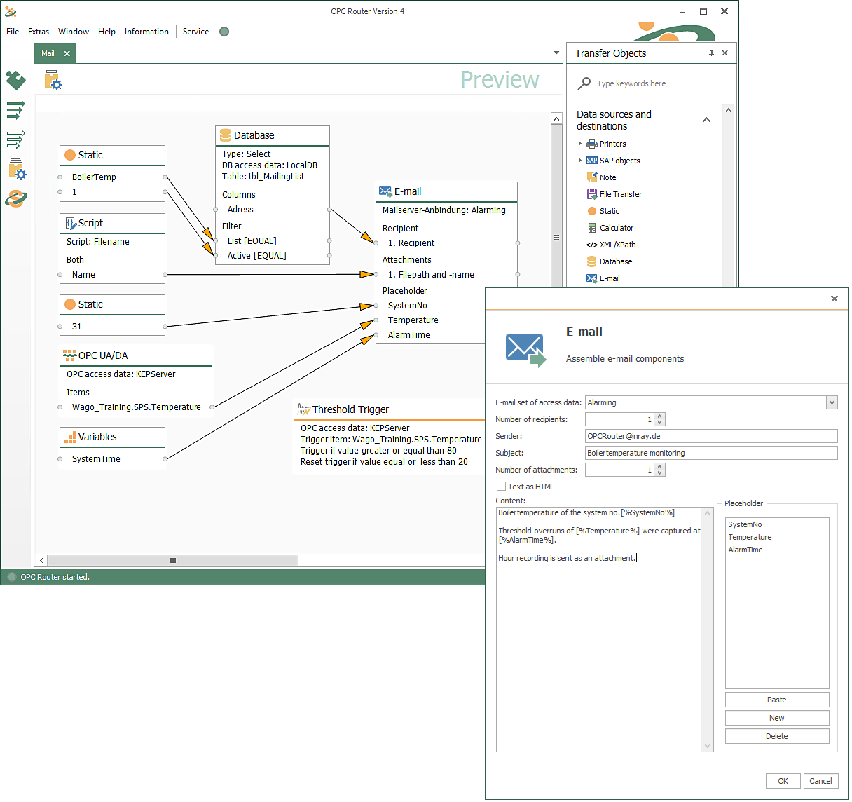 OPC Router Industry 4.0 software